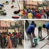K.R. Mangalam World School Conducts Cleanliness Drive