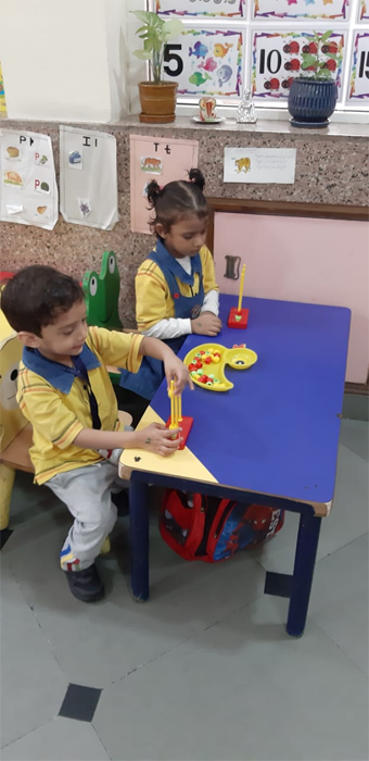 Abacus activity in Nursery (3)