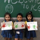 Welcome Craft Activity Class KG (2)