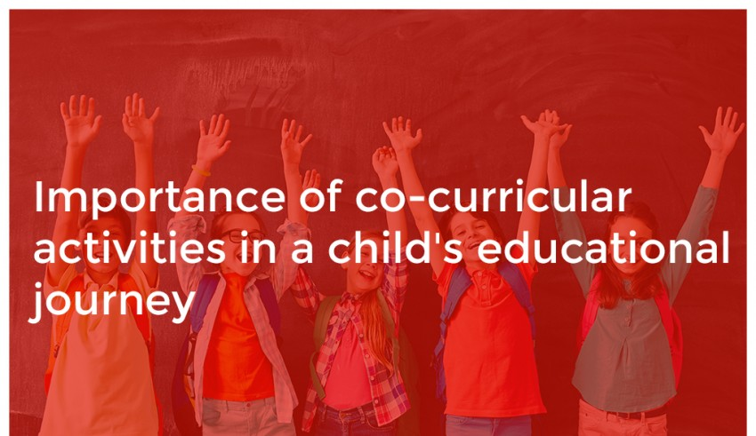 Importance of co-curricular activities in a child's educational journey