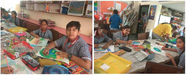 Inter- House Poster Making Competition